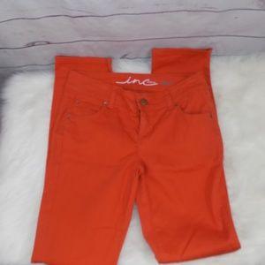 INC skinny leg regular fit jeans size 4